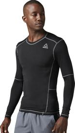 Reebok Work Out Ready Compression Long Sleeve Shirt Black 85b2d8fc66