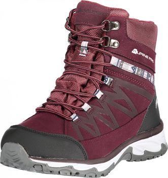 f1493ad663f0 Dámská zimní obuv Alpine Pro Caza je vyrobena z kvalitního syntetického  materiálu