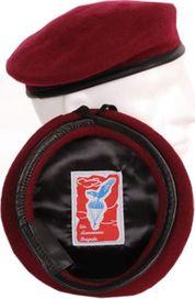čepice Fostex baret výsadkářský červený c109a74236