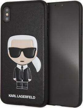 Karl Lagerfeld Iconic Karl Embossed pro iPhone XS Max černé. Značkový ochranný  kryt ... d00cf6a1a90