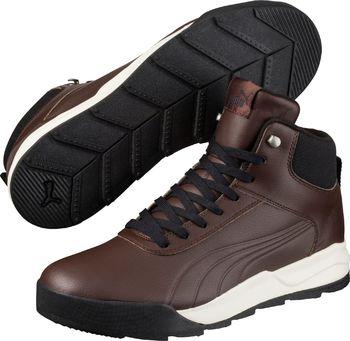 7083fe6be43 PUMA Desierto Sneakers L Brown Chocolate Brown. Pánská kotníková obuv je  stylovou ...