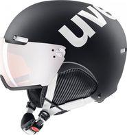 lyžařská helma UVEX Hlmt 500 Visor černá bílá mat 2018 19 55 - 59 1d07a95d6fa