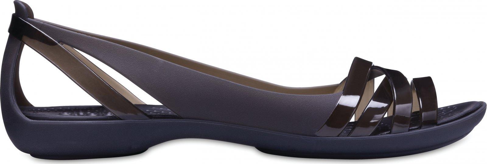 3ede74990914 Crocs Isabella Huarache 2 Flat W černé od 1 064 Kč