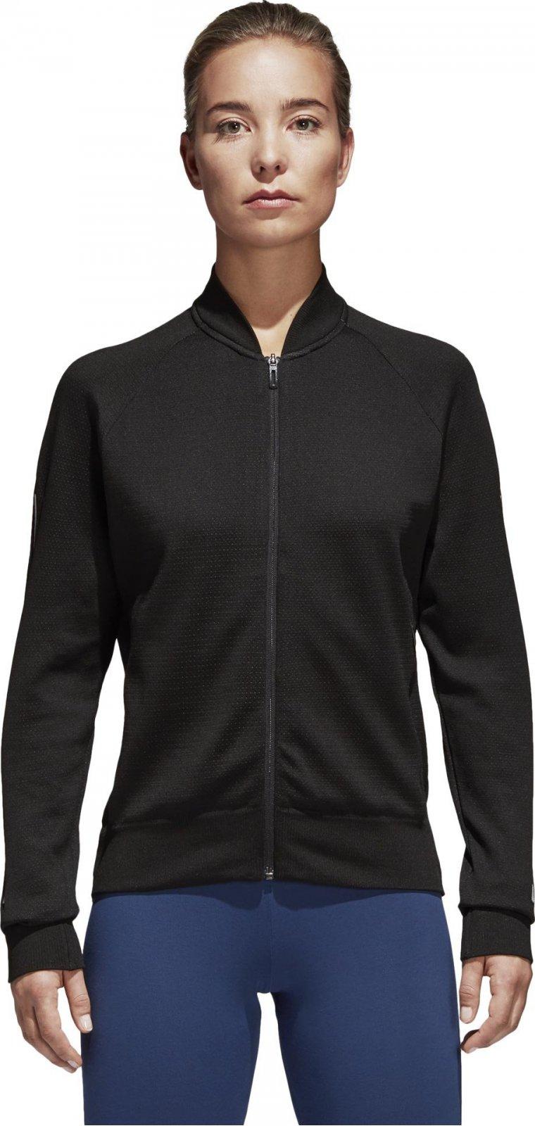 Adidas Women Id Knit Bomber Jacket černá od 1 450 Kč • Zboží.cz da6cbbb838