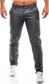 Šedé stříbrné pánské kalhoty s velikostí M • Zboží.cz a15d79e442