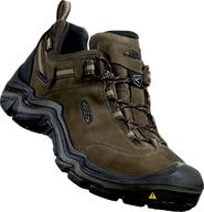 91bbf6f0b75e pánská treková obuv Keen Wanderer WP M Brown Dark Earth