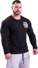 440027d03540 pánské tričko Nebbia Hardcore 341 černé