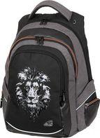6b1f75a64e Walker studentský batoh Fame Lion Black