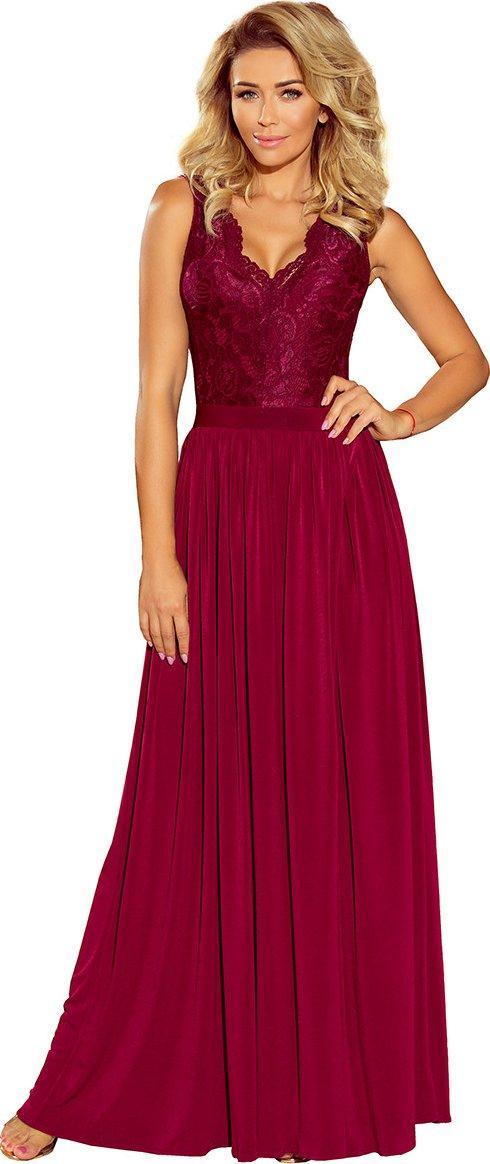 670782571fd8 Numoco Dámské šaty 211-2 vínové od 1 619 Kč