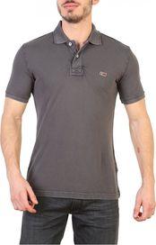 8f62d42dff35 pánské tričko Napapijri N0YHDX šedé