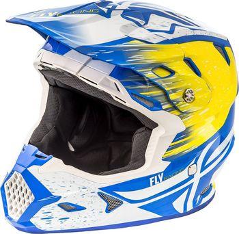 4d070aceedb Fly Racing Toxin Resin bílá žlutá modrá od 4 235 Kč • Zboží.cz