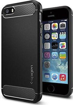 Spigen Rugged Armor pro Apple iPhone SE 5 5S Black od 349 Kč • Zboží.cz a9cec94fb17