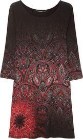 dámské šaty Desigual Jaipur Negro 72c9c0398b7