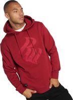 Roca Wear Hoodie Logo Stich In Red 4beecf5fbc2