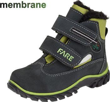 f5bf7edff4f Fare dětská zimní obuv 840261 Barva  zelená
