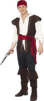Smiffys Kostým pirát loupežník (100%) • Zboží.cz bf462b5466b