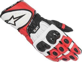 Alpinestars GP Plus R červené bílé černé S. Kolekce 2017. Pánské sportovní  rukavice. 2f0998d5d9