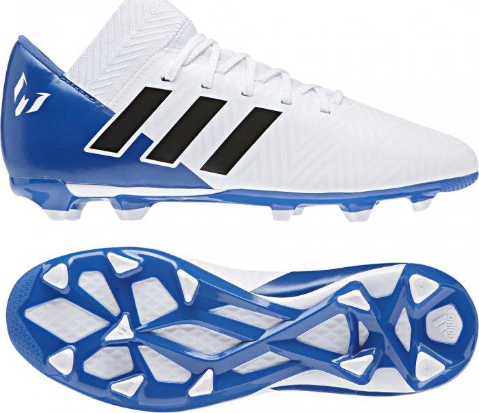 9885241ea8 Adidas Nemeziz Messi 18.3 FG J bílé modré od 1 050 Kč