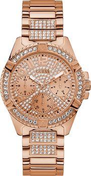 c0d391710 Hodinky Guess Ladies W1156L3 SPORT LADY FRONTIER jsou velmi výrazným módním  doplňkem, který je navržen s pouzdrem z ušlechtilého kovu v provedení  růžové ...