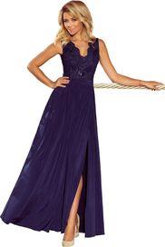 6656dc6462f6 dámské šaty Numoco Lea 215-2 tmavě modré