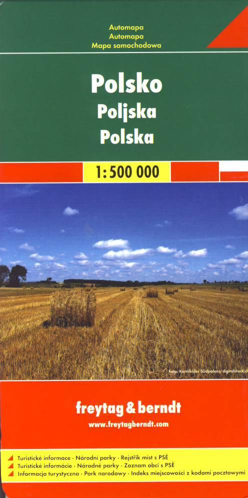 Polsko 1 500 000 Freytag Berndt Od 204 Kc Zbozi Cz