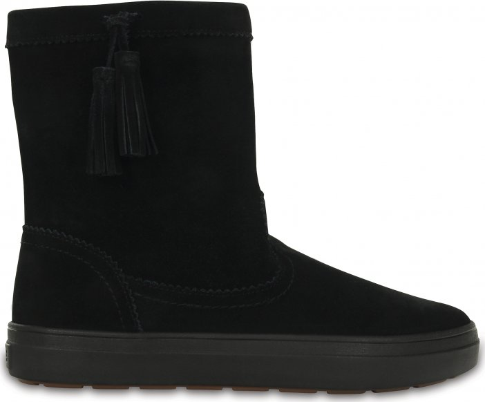 Crocs LodgePoint Suede Pull-On Boot Black od 1 539 Kč • Zboží.cz 301d032766