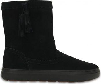 Crocs LodgePoint Suede Pull-On Boot Black. Lehoučké zimní boty ... f1dbc9143b