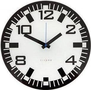 Fisura 958 Zurich. Skleněné nástěnné hodiny ... ee9f9e366d