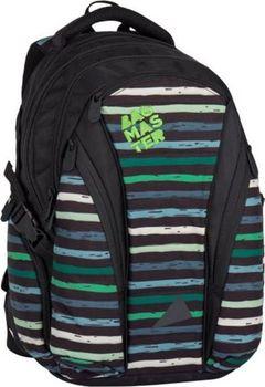 cb85d4ad8d2 Bagmaster Bag 7 CH. Tříkomorový studentský batoh s kapsou na notebook ...