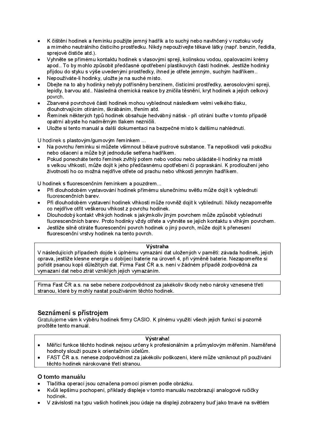 Návod k použití Casio Baby-G BGD-121-1ER • Zboží.cz 924530f9138
