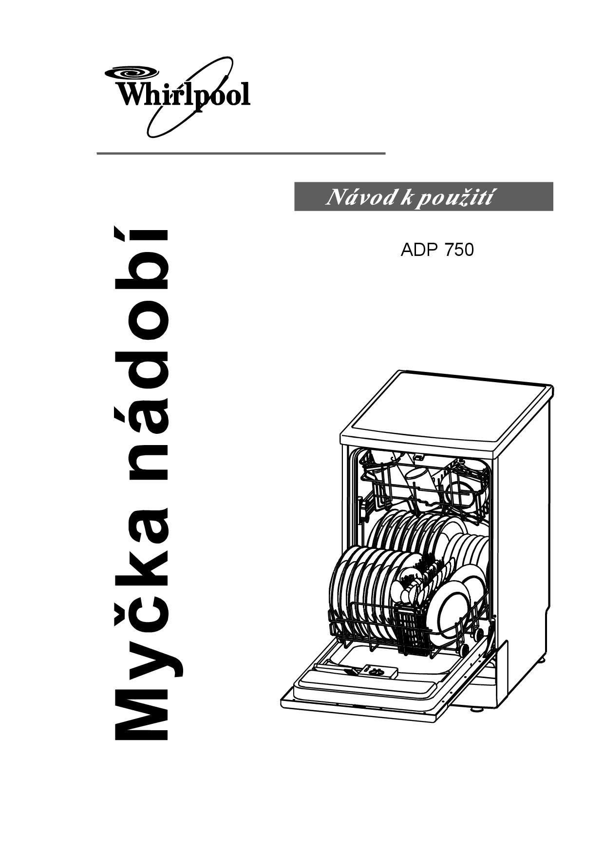 Populair Uživatelská příručka Whirlpool ADP 750 WH | Zboží.cz JJ93