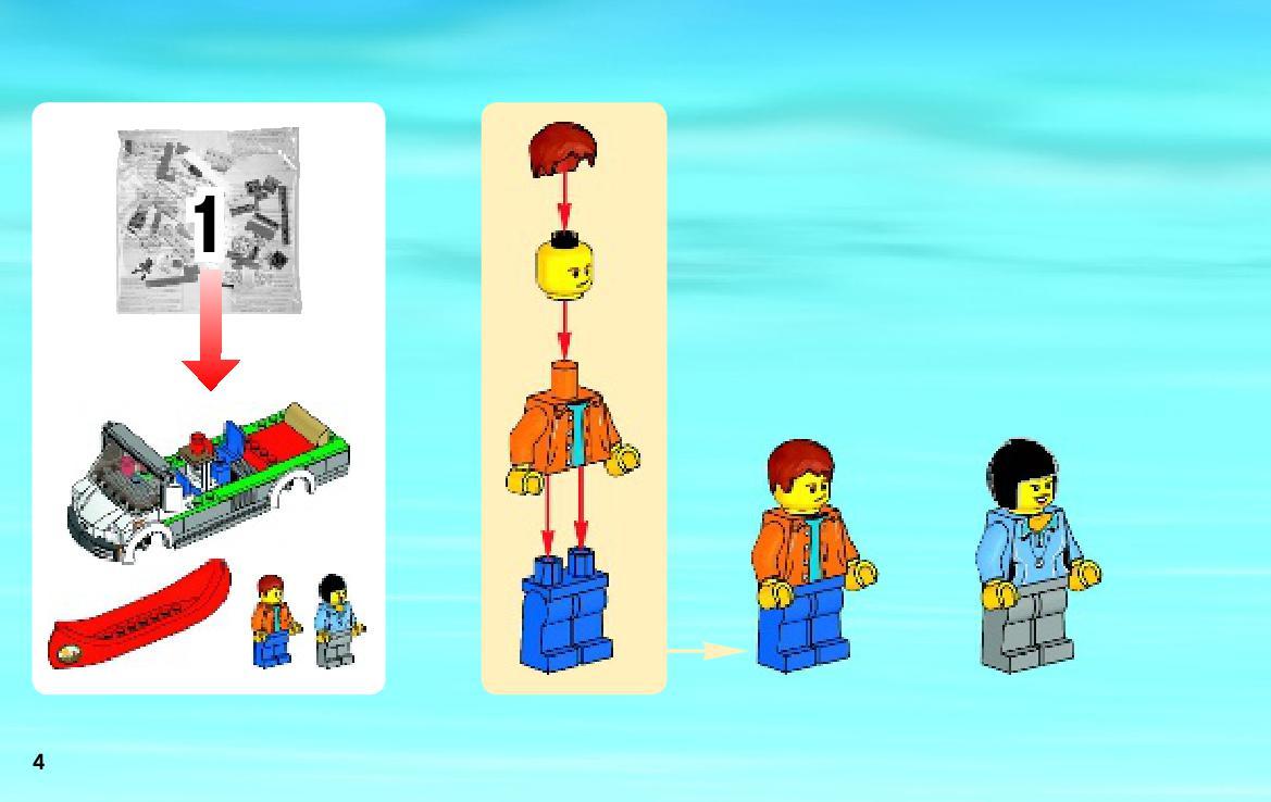 Nvod Na Stavbu 1 Lego City 60057 Obytn Dodvka Zbo
