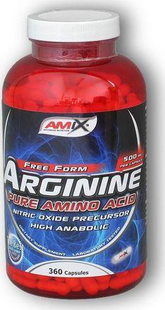 Výsledek obrázku pro Amix Arginine 360 cps