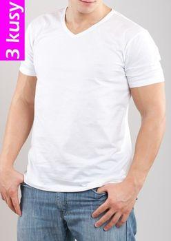 66d87563b456 Pánské tričko Emporio Armani 110856 CC712 3 pack bílá - Bílá XL od ...