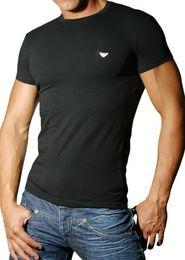 pánské tričko Pánské tričko Emporio Armani 110035 CC518 černé 32e705e637