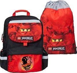 04fb357800b LEGO BAGS NINJAGO Kai školní taška Starter Plus SET 2 dílný od 1 999 ...