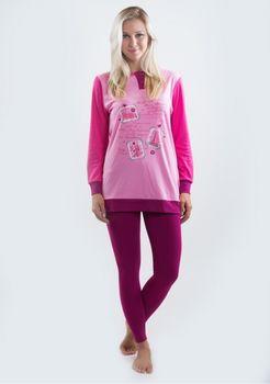 9442cc020e0 Dámské pyžamo Buccia di mela DI6459AZ růžové M • Zboží.cz