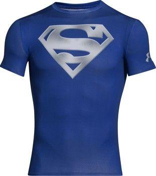 Under Armour Alter Ego Comp Chrome Superman pánské tričko XXL od 749 ... 702583e06c