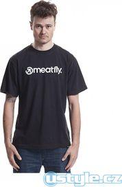 pánské tričko pánské triko Meatfly Logo 94b335d5e7
