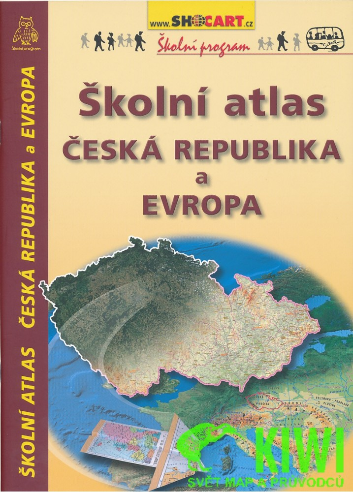 Skolni Atlas Ceska Republika A Evropa Od 135 Kc Zbozi Cz