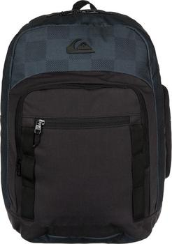 Quiksilver Schoolie 30L Checks Black EQYBP03081-KVJ7. Moderní pánský batoh  značky Quiksilver f07a414824