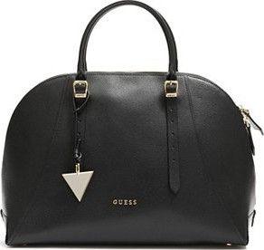 e5c6670120 Krásná kabelka Guess Lady Luxe Leather Dome Satchel. Kožený exteriér s  jemnou texturou.