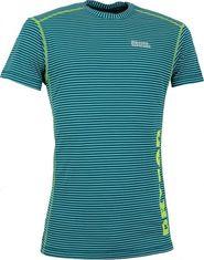 pánské tričko Pánské termo triko kr. rukáv NORDBLANC HYBRID NBWFM4637 EM  ZELENÁ Velikost XXL 0e9f1fc6c9