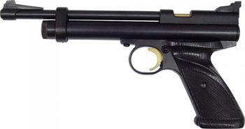 7f15d30b1 Jediný model pistole poháněné CO2 v kalibru 5,5 mm, to je Crosman 2240.  Vzduchovka pracuje na bázi plynu CO2, 12 g bombička se vkládá do tubusu pod  hlavní ...