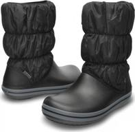 02368a26f28 Crocs Dámské sněhule Winter Puff Boot Women Black-Charcoal 14614-070 37
