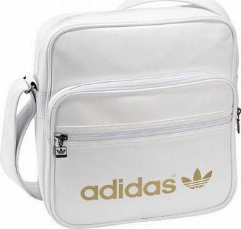 80ada08c78 Taška Adidas Sir Bag Adicolor black-white. Černá taška s potiskem Adidas na  přední straně.