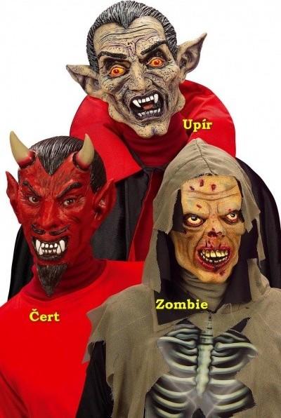 6a38c5bee WIDMANN Maska dětská Upír Halloween latexová od 244 Kč | Zboží.cz