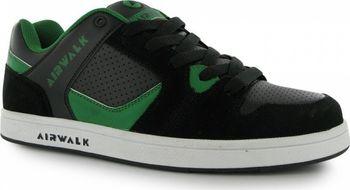 Airwalk Metalhead Mens Skate Shoes Black Blue • Zboží.cz 0535db5be2