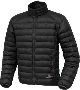 6b10cccff9de Warmpeace Drake černá je pánská ultralehká péřová bunda z materiálu Colibri  DWR. Kombinace nízké váhy a vysoké hřejivosti peří předurčuje bundu buď  jako ...