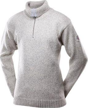 Pánský rolák zip devold Devold Classic Nansen Sweater zip neck 386 šedá S 5ad5434515